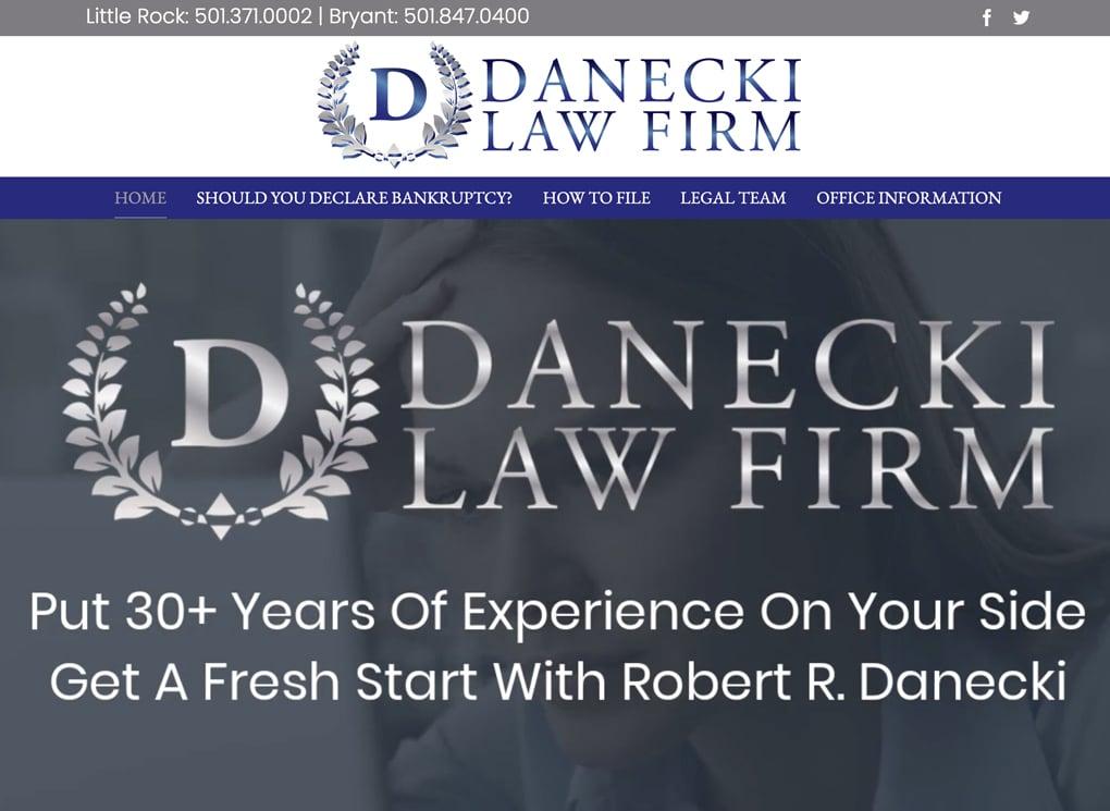 Robert Danecki Small Business Website Design Portfolio