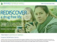 Small Business Website Portfolio: Treatment Centers of America