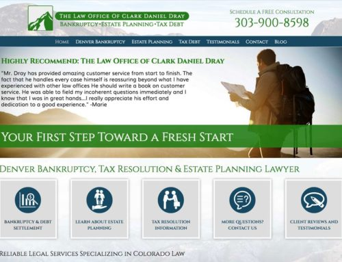 Clark Dray: Denver Bankruptcy, Tax Resolution & Estate Planning Lawyer