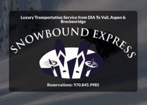 Snowbound Express in Vail, CO