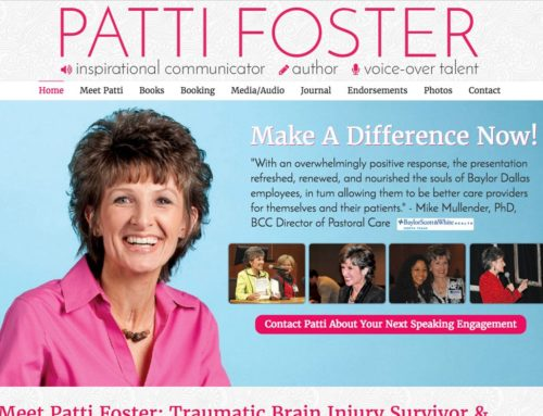 Patti Foster: Inspirational Communicator