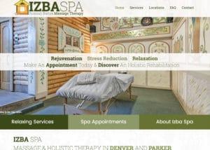 The Izba Spa in Denver and Parker
