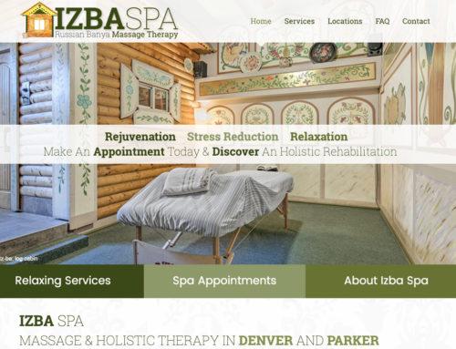 Izba Spa in Denver & Parker