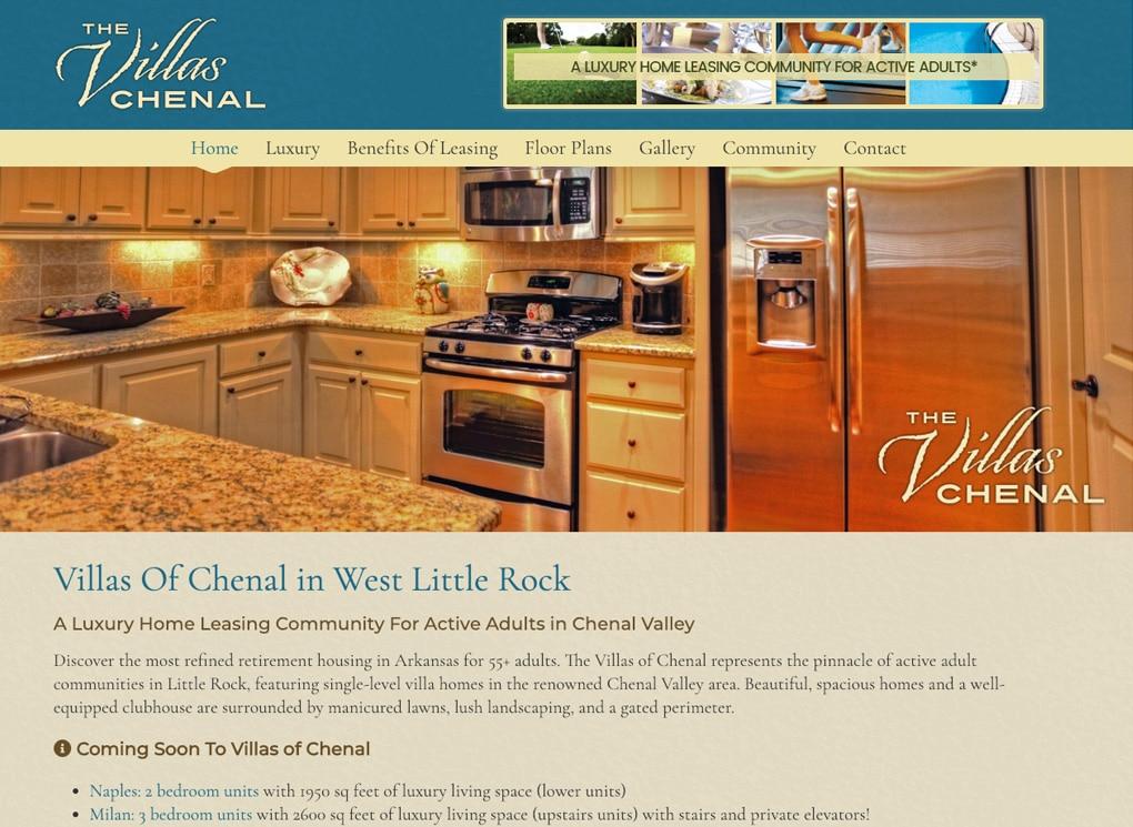 Villas Of Chenal in West Little Rock