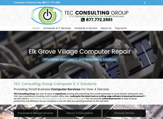 Small Business Website For IT Companies
