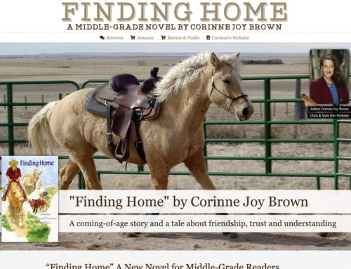 """""""Finding Home"""" By Corinne Joy Brown"""